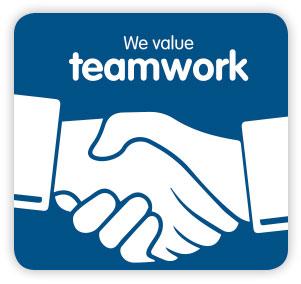 Quantum Foods Values: Teamwork